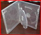 14mm Viva Premium Super Clear Triple 3 Discs DVD Cases