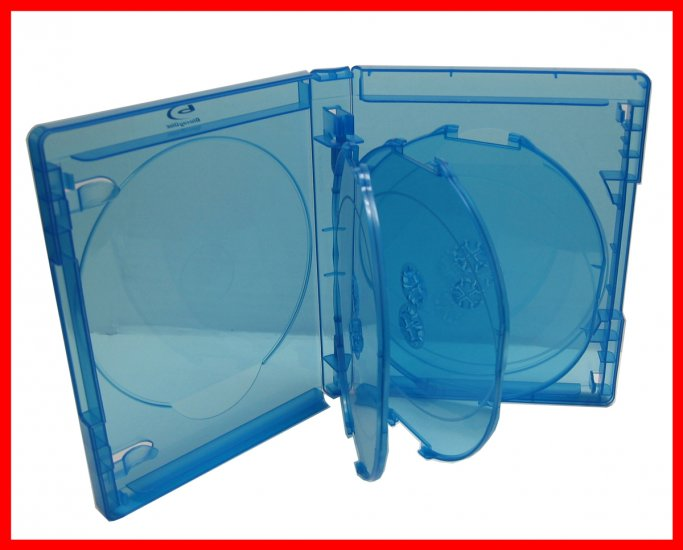 25mm BLU-RAY MULTI CASE (HOLDS 7 DISCS) VIVA ELITE 7 Tray - Click Image to Close
