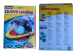 New Fellowes Neato CD DVD Labeling System with 120 Labels and install kit Free Shipping