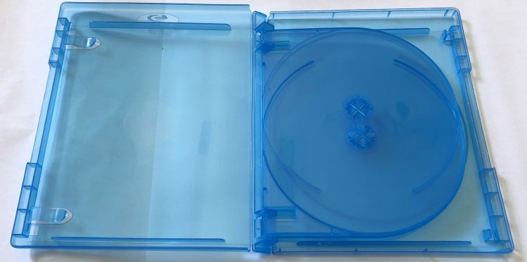 New 5 Pk MegaDisc Blu-Ray Multi 5 Discs case 15 mm Tray Storage Box High Quality Free Shipping - Click Image to Close